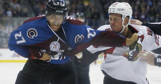 Prince scores first 2 NHL goals, Senators top Avalanche 5-3