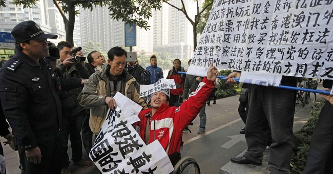 Chinese activist sentenced to 6 years in jail