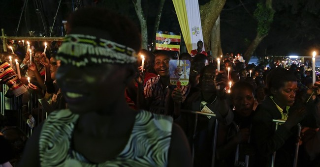 The Latest: Tens of thousands Ugandans await pope's Mass