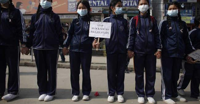 Tens of thousands of students protest in Nepalese capital