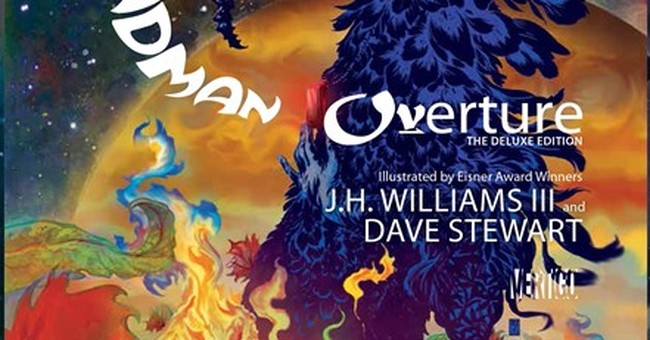 Gaiman returns to comics with 'Sandman: Overture'