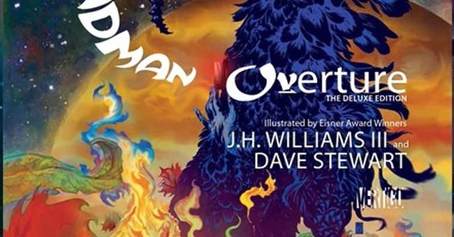 Gaiman returns to comics with 'Sandman: Overture'