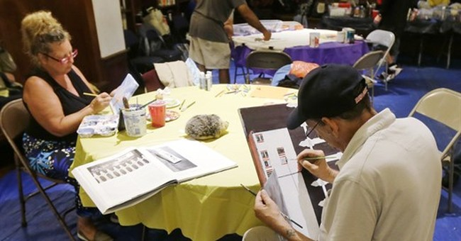 Art program gives Boston's homeless a place to create