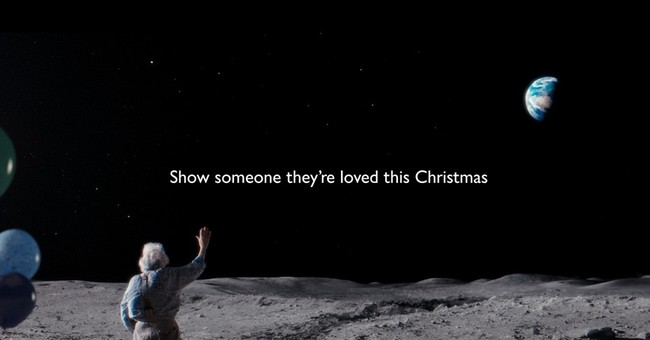 In the land of Scrooge, a soft spot for Christmas ads