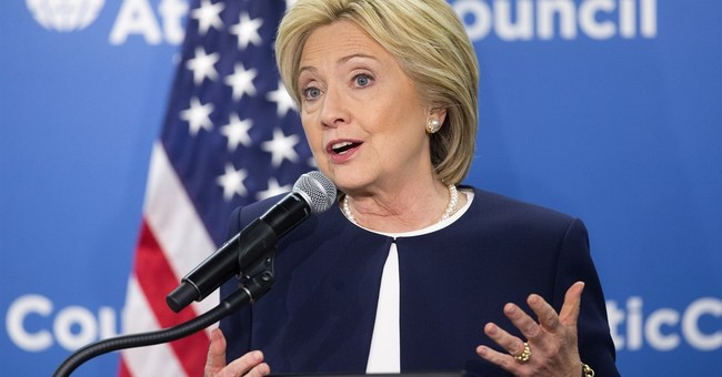 Clinton rallies with female Senate Democrats _ except Warren