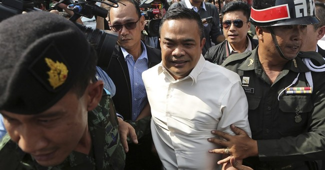 Thai opposition figures detained ahead of scandal park visit