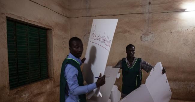 Burkina Faso commission says Kabore wins presidency