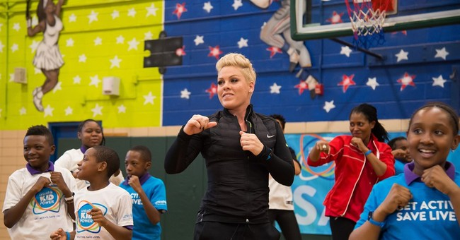 Pink joins UNICEF in fight to end child malnutrition