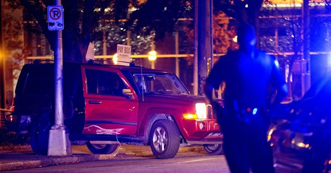 The Latest: Atlanta police say man shot first in shootout