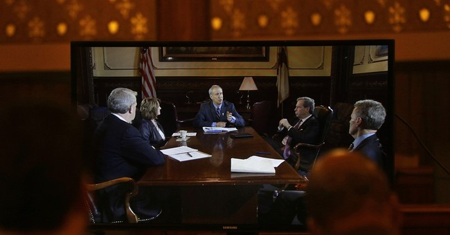 Illinois governor, legislators hold rare meeting on budget