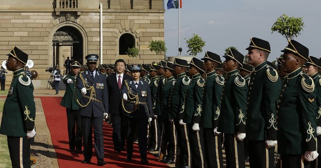 Chinese president in South Africa to discuss trade