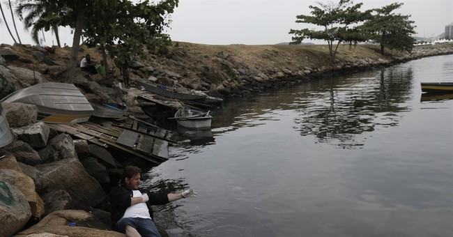 AP test: Rio Olympic water badly polluted, even far offshore