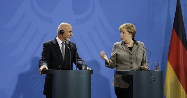 The Latest: Germany to work with Afghanistan on refugees