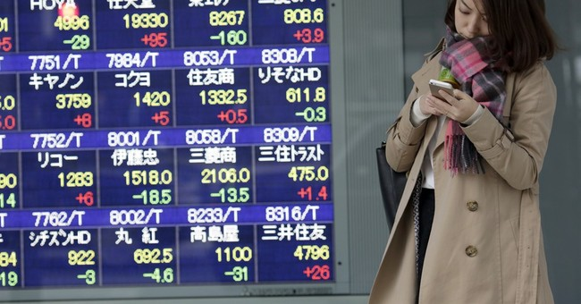 Stocks mostly fall in early trading as price of oil slips