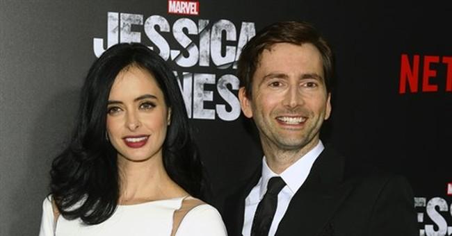 David Tennant: a fiendish control freak on 'Jessica Jones'