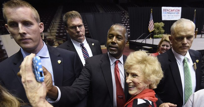 Carson says he's faced discrimination as black conservative