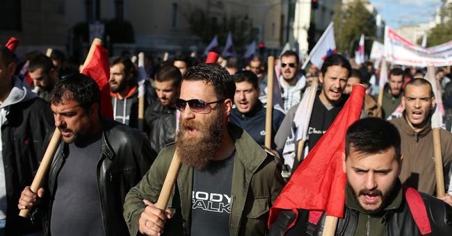 Greek workers walk off job in 2nd general strike