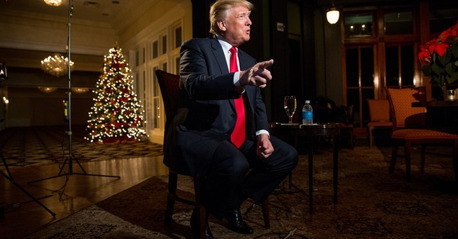 AP Conversation: Trump says Mideast peace rests with Israel