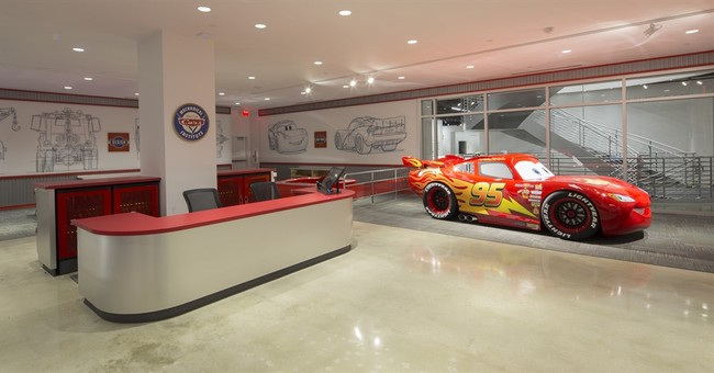 Pixar goes under Lightning McQueen's hood in new exhibit