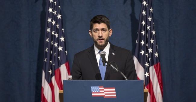 Speaker Ryan calls for 'bold, pro-growth agenda'