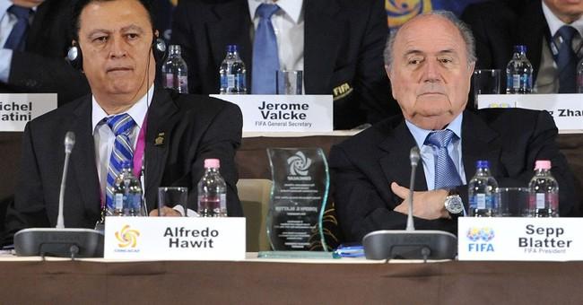 FIFA ethics court bans arrested VPs Napout, Hawit