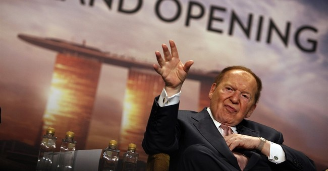 Casino magnate Adelson draws GOP field to Jewish conference