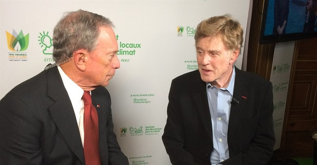 AP Interview: Redford says fighting global warming is urgent