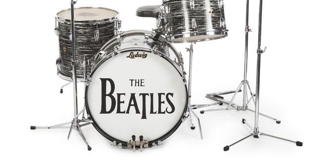 Colts owner picks up Ringo Starr's drum set at auction