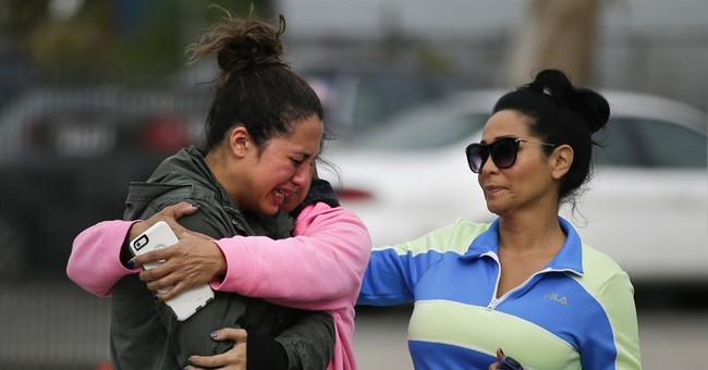 The Latest: Islamic State group praises California shootings