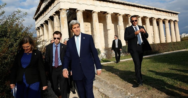 Kerry confident Greece will keep up reform effort