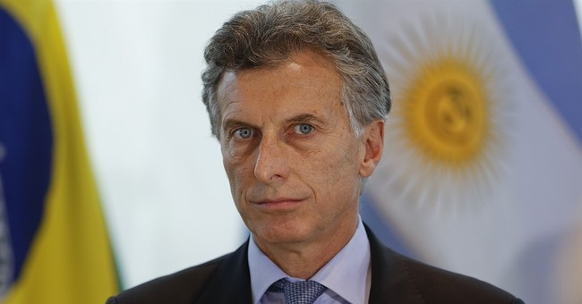 Baton and sash at center of presidential spat in Argentina
