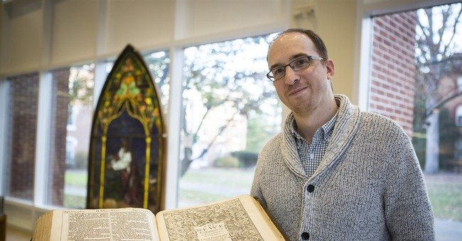 Grad student finds rare 1611 Bible in university library