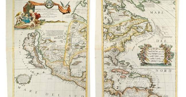 Historic maps, atlases of America up for sale at NYC auction
