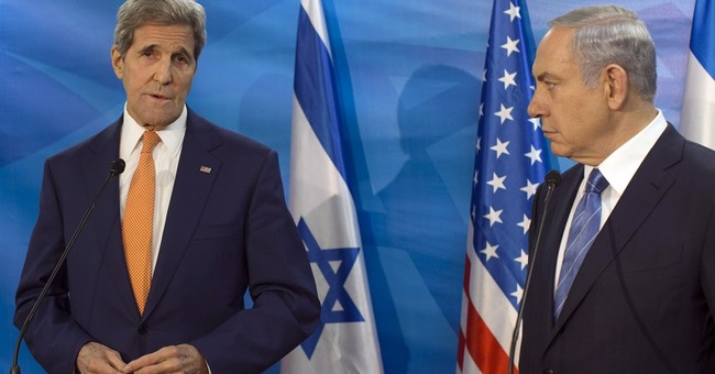 Kerry warns Israel about collapse of Palestinian Authority