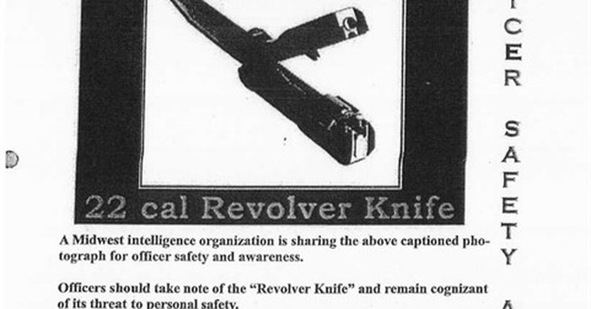 Obscure knife-gun cited in Chicago police shooting case