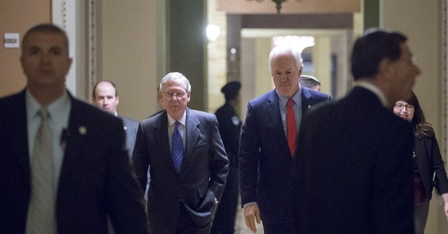 On Capitol Hill, it's the establishment's turn to rise
