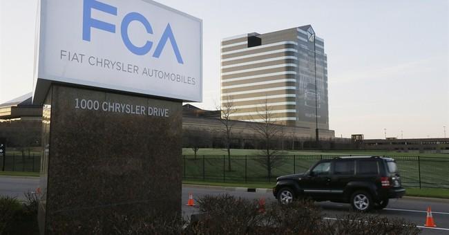 Fiat Chrysler US 2014 profit falls 56 pct. on one-time items