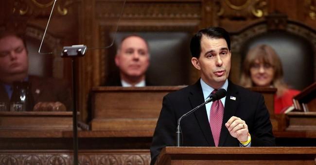 Wisconsin Gov. Walker proposes drug testing, university cut