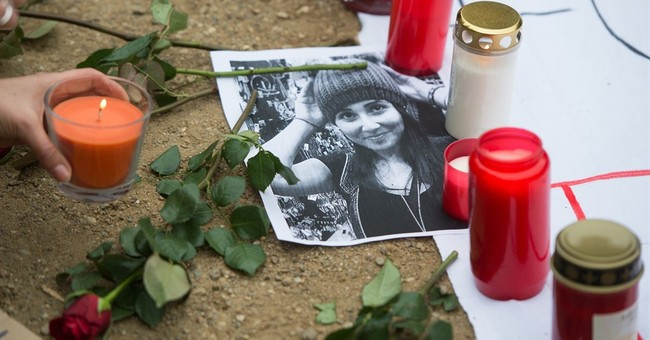 German prosecutors charge man in female student's death