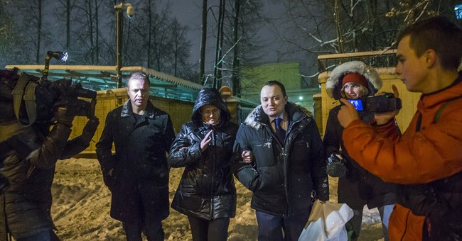 Russian mother of 7 suspected of treason released