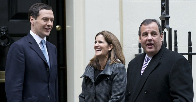 Christie declines to take questions on final day of UK trip