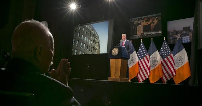New York City mayor's speech focuses on affordable housing