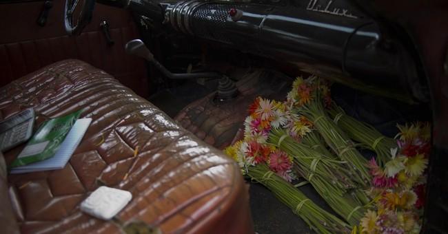 AP PHOTOS: Cuba mother becomes flower entrepreneur