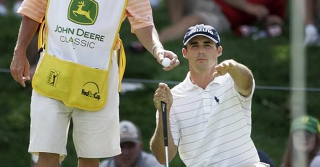 PGA Tour caddies sue over wearing bibs with logos