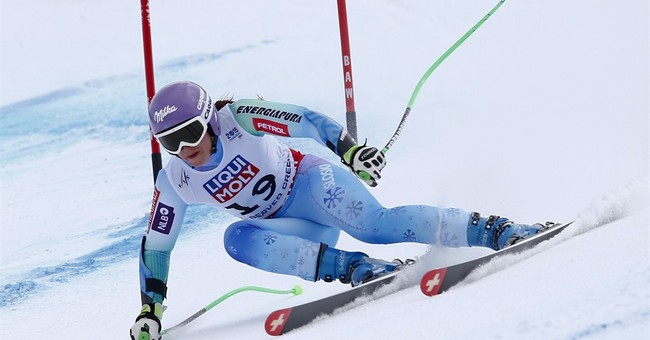 Anna Fenninger wins super-G at worlds; Lindsey Vonn 3rd
