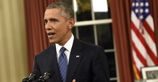 The Latest: Obama misspoke about Malik's visa