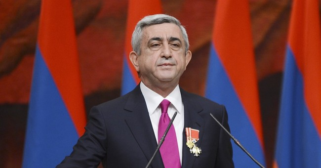Armenia votes on giving president's powers to prime minister