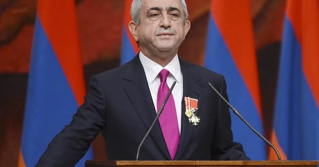 Armenia votes on giving president's powers to prime minister