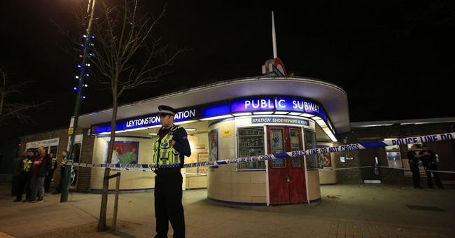 UK police probe 'terrorist' knife attack at London station