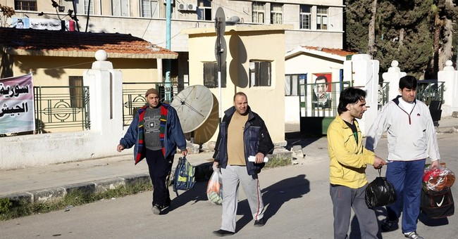 Syrian authorities release 35 people ahead of deal in Homs